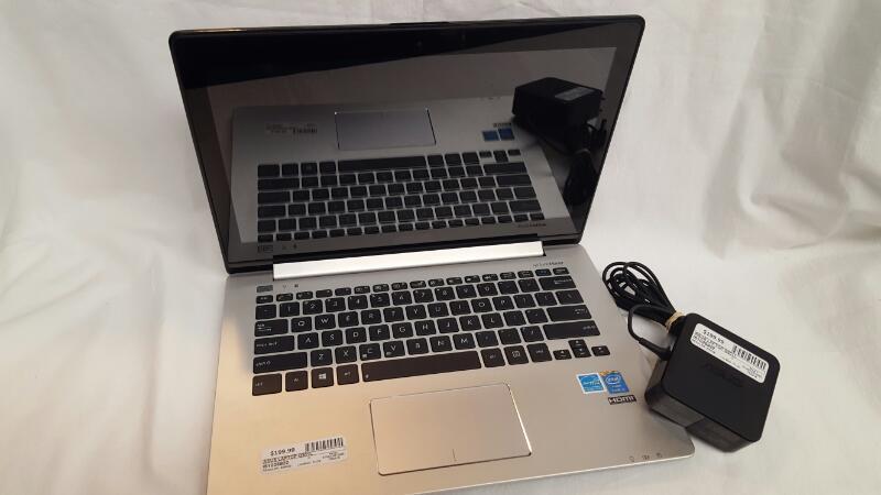 "Asus Q301LA-BSI5T17 VivoBook 13.3"" Touch-Screen Laptop - Intel i5 - 6GB - 500GB"