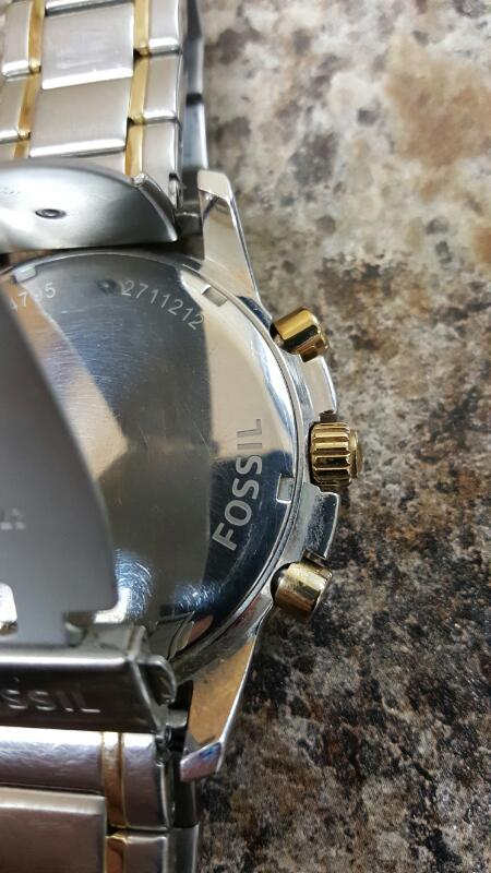 Fossil Dean Chronograph (FS4795) Wrist Watch
