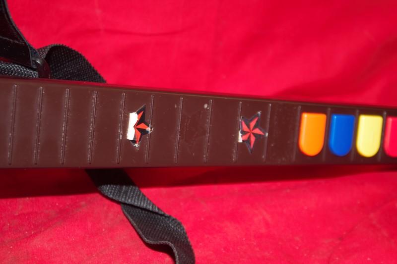 Guitar Hero Red Octane Wireless Controller Model PSLGH PS2