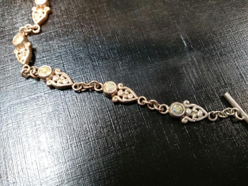 Silver Fashion Bracelet 925 Silver 12.7g