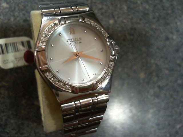 CITIZEN Lady's Wristwatch Stainless Steel E030-H26639