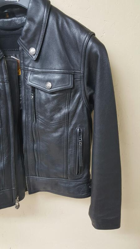 Harley-Davidson Leather Jacket W/Liner - H2901 Womens Small
