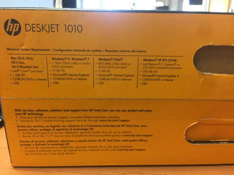HEWLETT PACKARD Printer DESKJET 1010