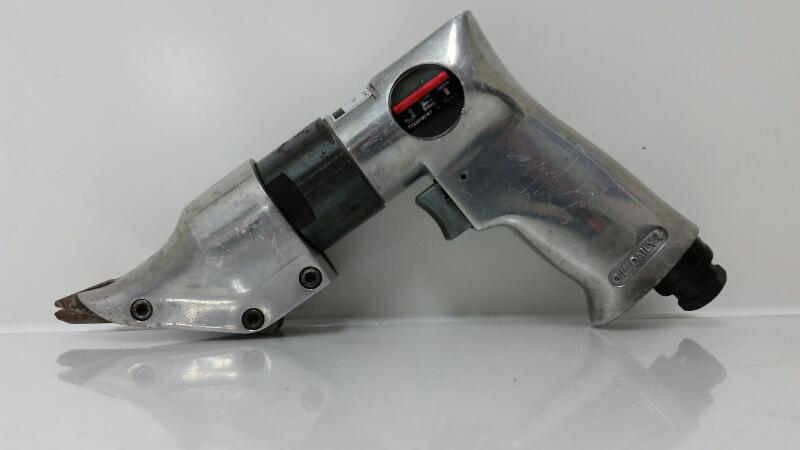 JET JSM-204 Handheld Pistol Grip Metal Shears Air Pnematic Powered