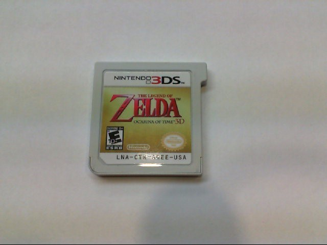 The Leged of Zelda - Ocarina of Time 3D - Nintendo 3DS
