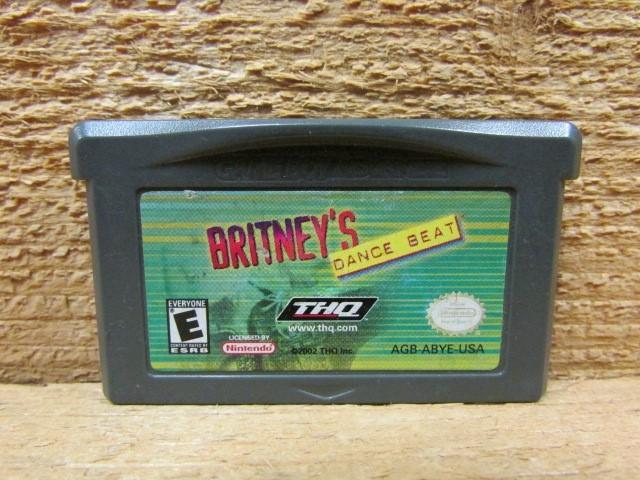 NINTENDO Nintendo GBA Game BRITNEYS DANCE BEAT
