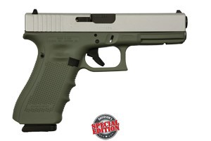 GLOCK 17 GEN 4 9MM  FOREST GREEN