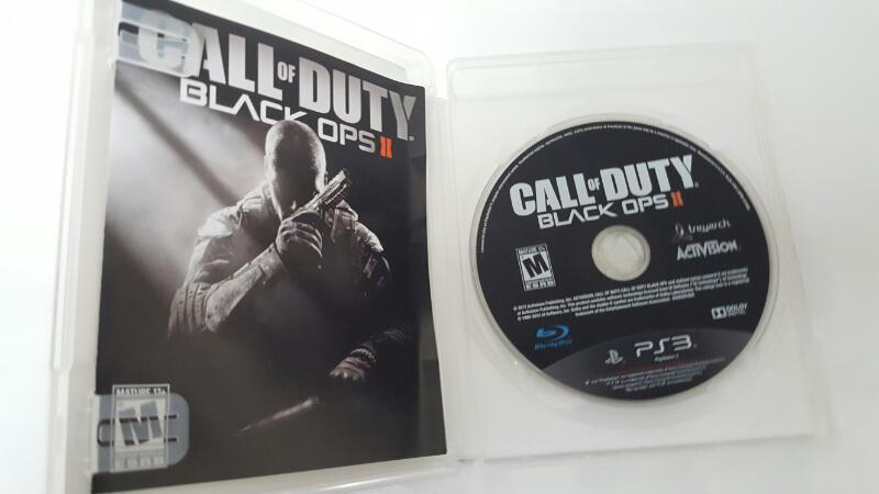 Sony PlayStation 3 Game CALL OF DUTY BLACK OPS II 2 PS3