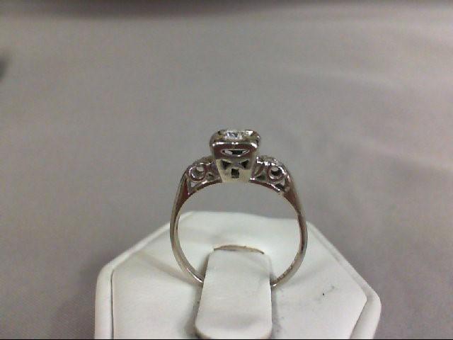Lady's Diamond Fashion Ring .10 CT. 14K White Gold 1.98g