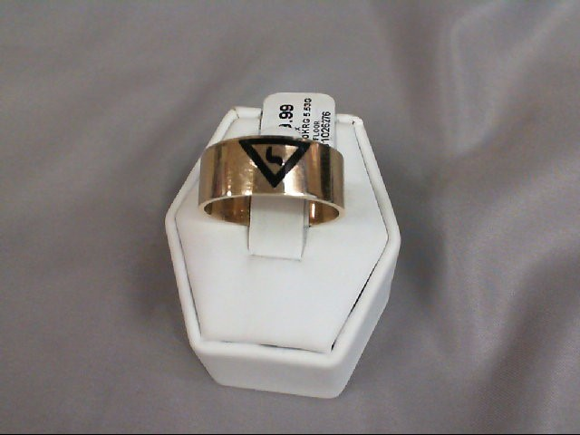 Gent's Gold Ring 10K Rose Gold 5.53g Size:10