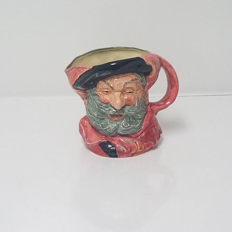 "Vintage Royal Doulton ""Falstaff"" COPR 1949 Ceramic Toby Mug/Jug"
