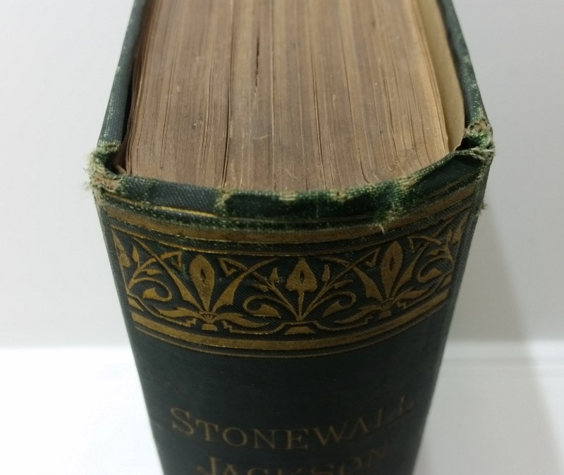 Stonewall Jackson: A Military Biography by John Cooke Signed WH Thompson c. 1876