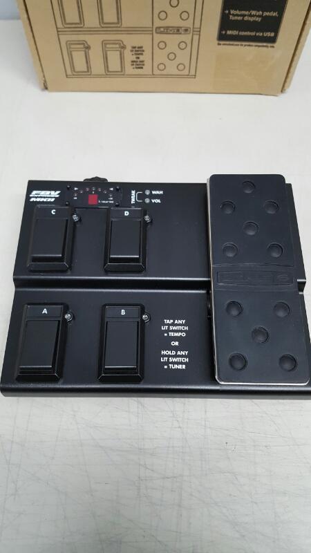Line 6 FBV Express MKII Guitar Footswitch Black