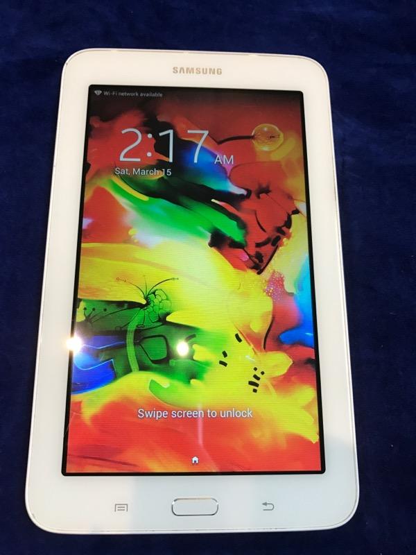 SAMSUNG Tablet SM-T110 Tab 3 Lite 8GB White