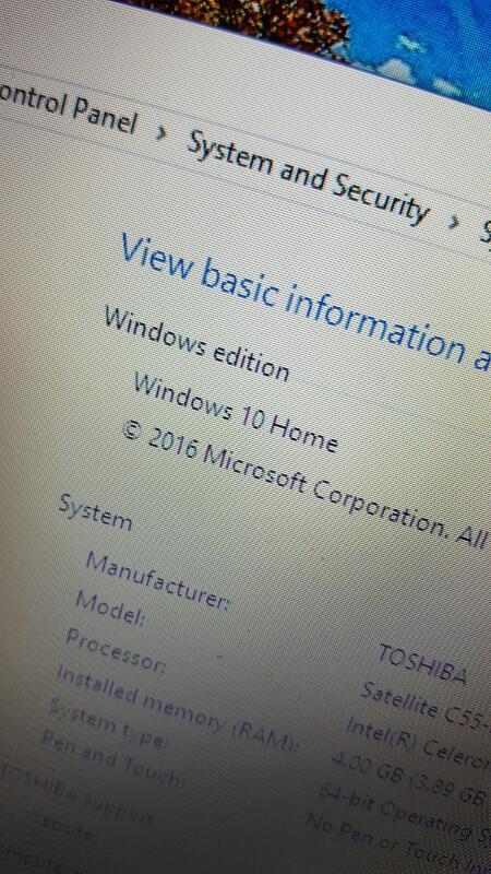 "Toshiba Satellite C55-B5319 (Windows 10, 15.6"", 500gb, 4gb, 2.16ghz)"