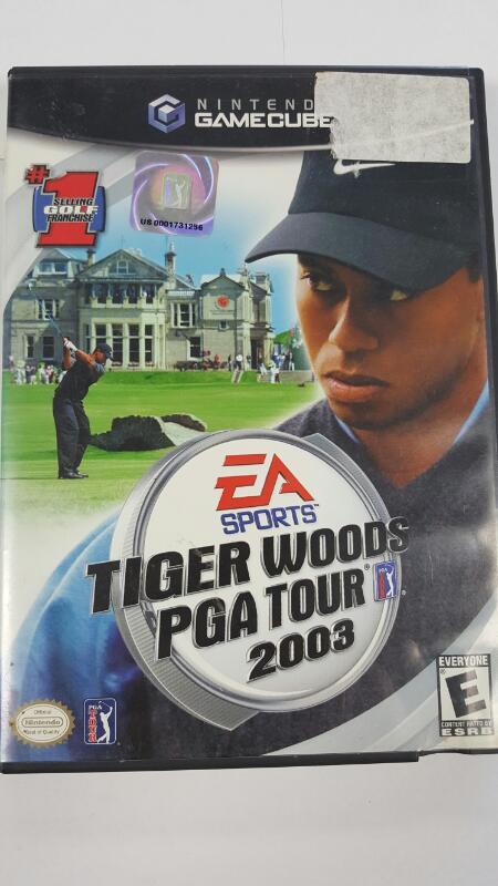 Tiger Woods: PGA Tour 2003 (Nintendo Gamecube)