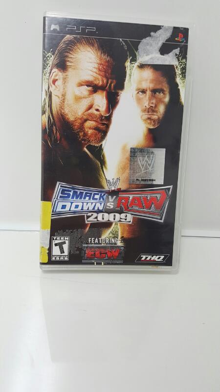 Sony PSP/UMD Game SMACK DOWN VS RAW 2009