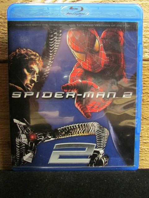 BLU-RAY MOVIE Blu-Ray SPIDERMAN 2