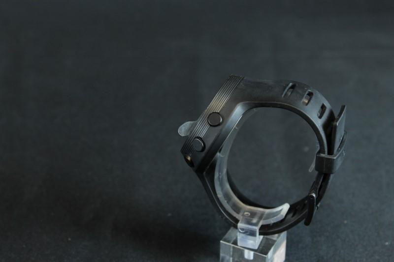 Black Oregon Scientific Smart Watch Bluetooth