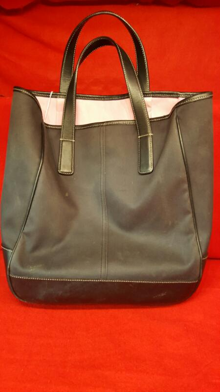 ... real coach black purple ladies handbag purse 8fed9 b53bf 4a648afcd1