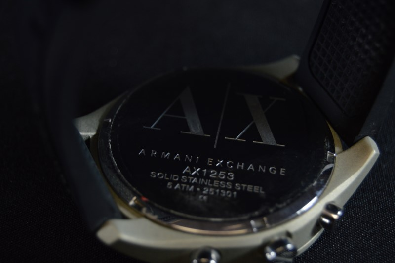 Armani Exchange Model AX1253 Wrist Watch Black Band
