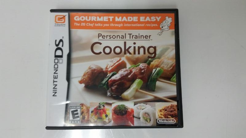 Personal Trainer Cooking: Gourmet Made Easy (Nintendo DS)