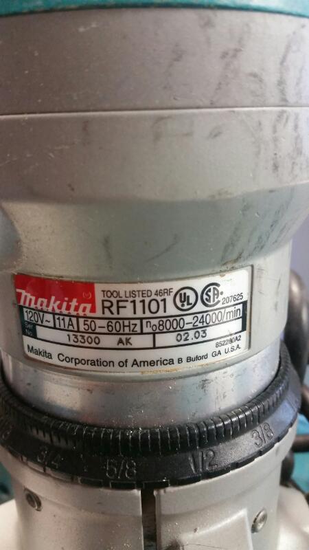MAKITA Router RF1100