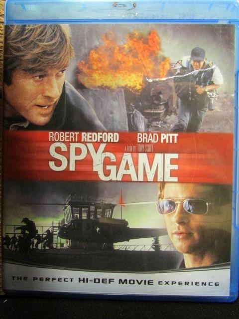 BLU-RAY MOVIE Blu-Ray SPY GAME