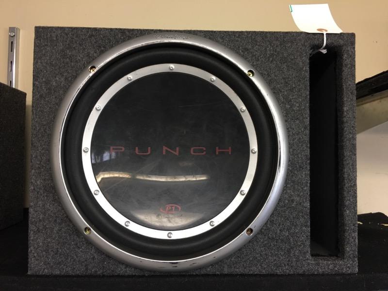 ROCKFORD FOSGATE Car Speakers/Speaker System PUNCH P1 12