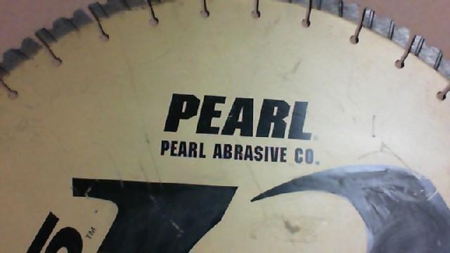 PEARL ABRASIVE Concrete Saw LW20NSP - Reserve price $50