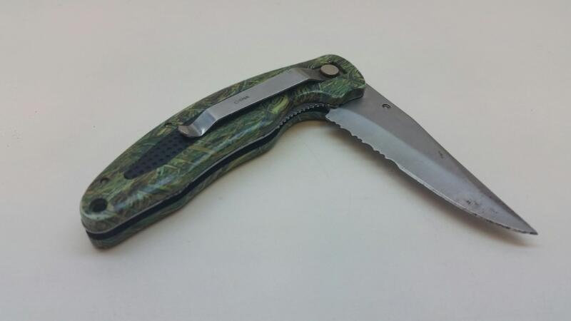 """FROST CUTLERY 3"""" FOLDING POCKET KNIFE]"""