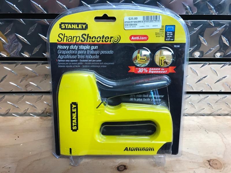 STANLEY Nailer/Stapler TR150
