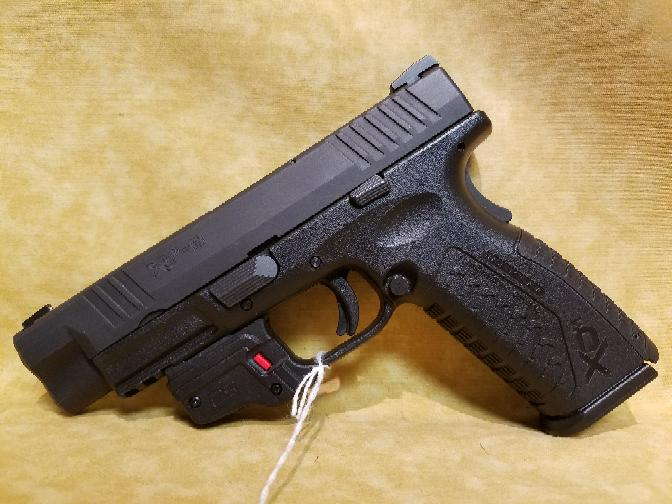 Springfield XDM 9mm Pistol - 3 Mags / Gear Package / Red Laser