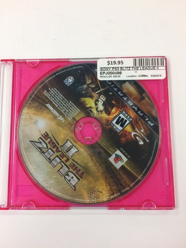 SONY Sony PlayStation 3 Game BLITZ THE LEAGUE II