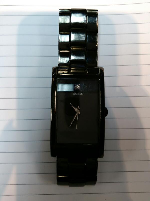 GUESS Gent's Wristwatch MODEL 610610