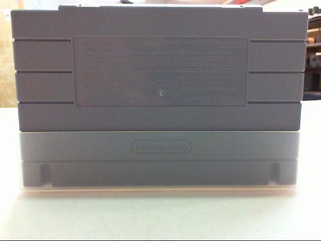 Top Gear - SNES - Super Nintendo
