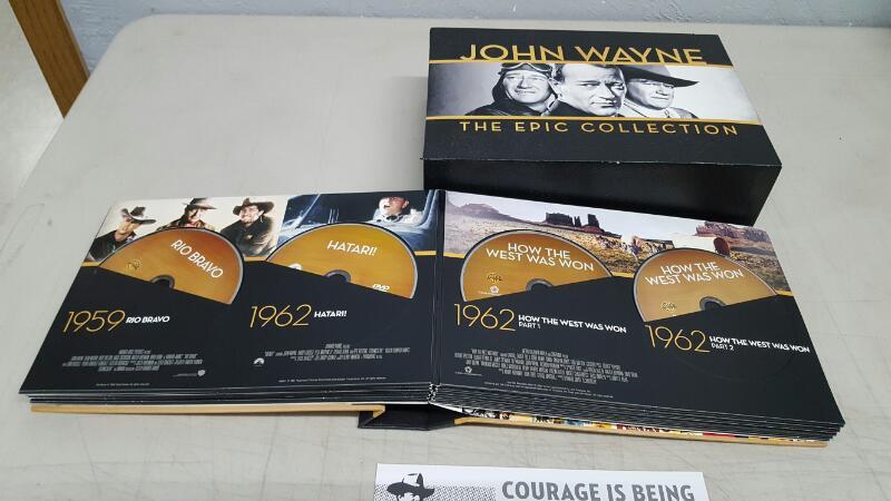 John Wayne: The Epic Collection (DVD, 2014, 38-Disc Set)