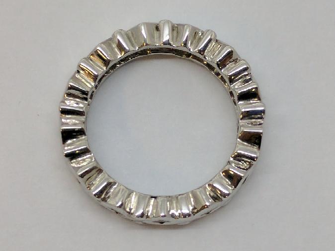 Lady's Platinum-Diamond Anniversary Ring 13 Diamonds .52 Carat T.W.