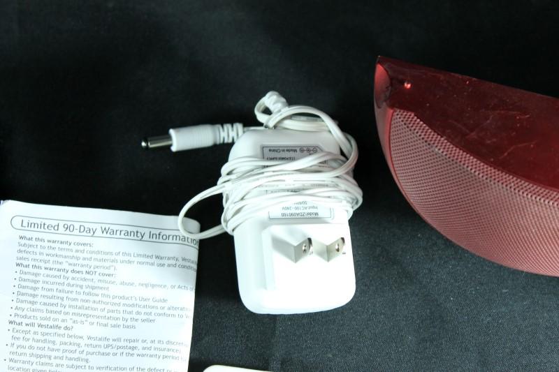 Vestalife Ladybug LB01 Speaker (Red)