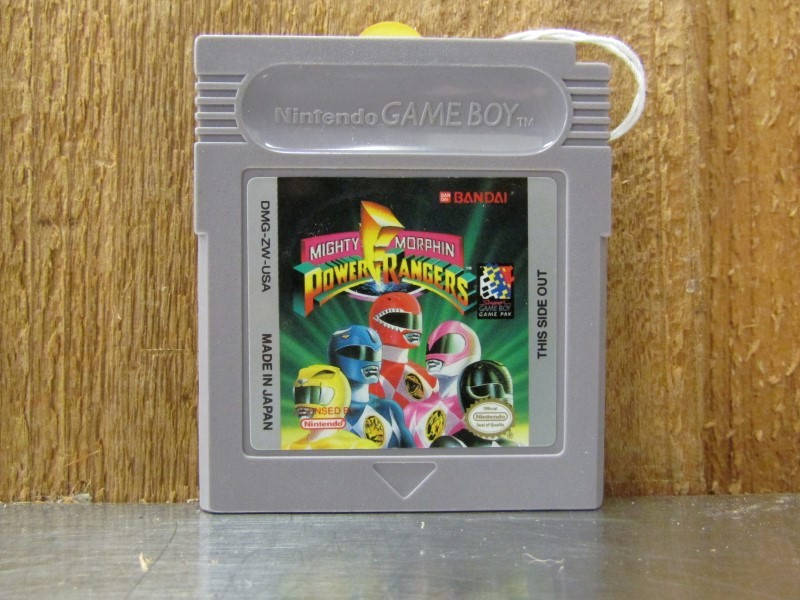 NINTENDO Vintage Game MIGHTY MORPHIN POWER RANGERS GAMEBOY