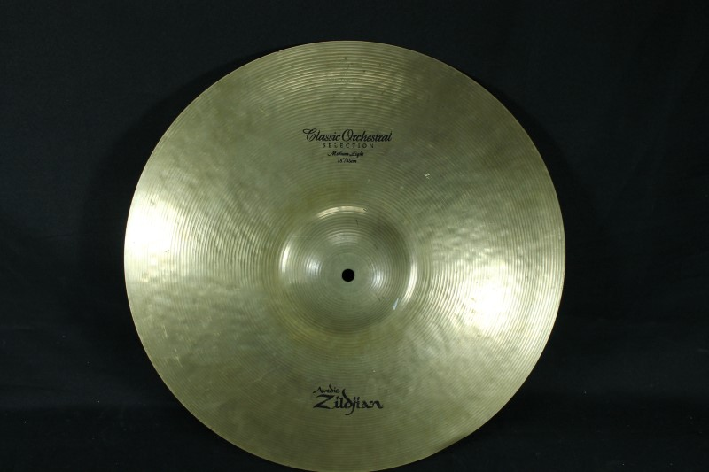 "Zildjian 18"" Crash Classic Orchestral One Cymbal"