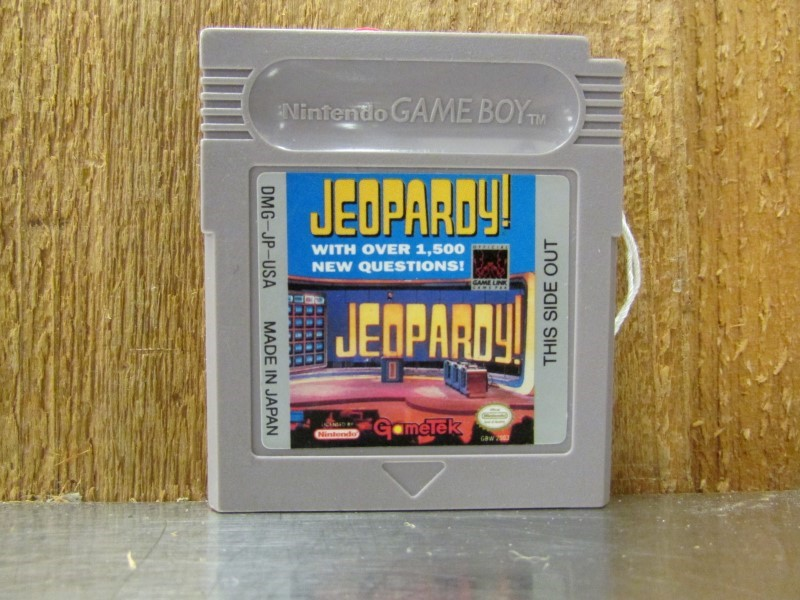 NINTENDO Vintage Game JEOPARDY! GAMEBOY