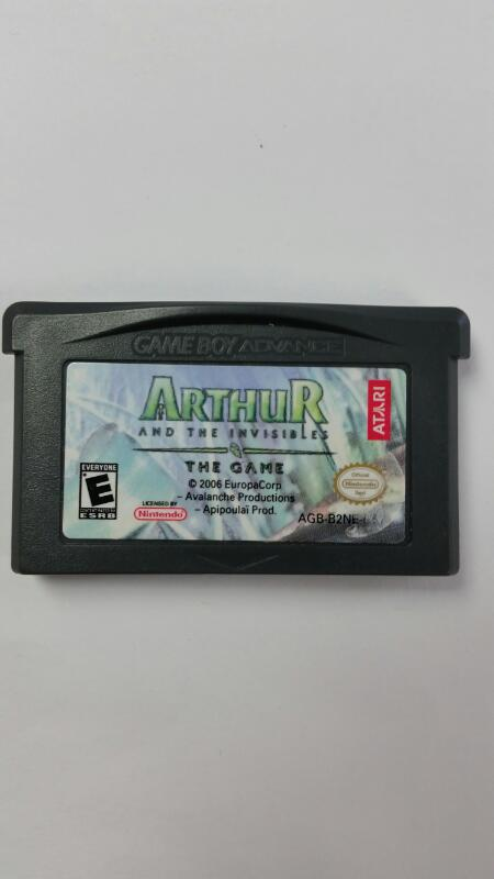 Arthur and the Invisibles: The Game (Nintendo Gameboy Advance GBA)