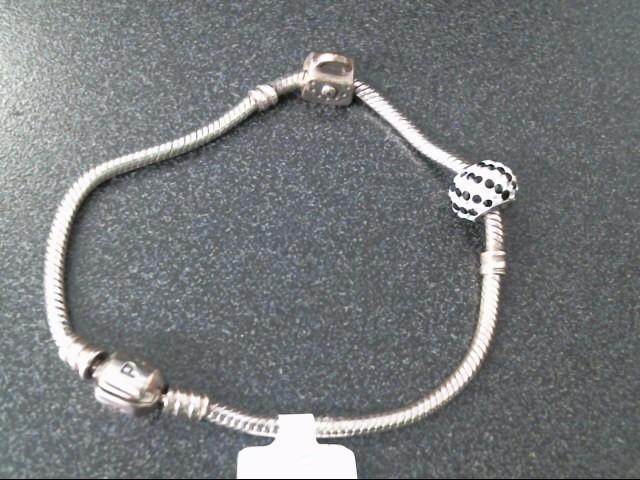 Pandora Silver Fashion Bracelet PANDORA 925 Silver 11.4dwt