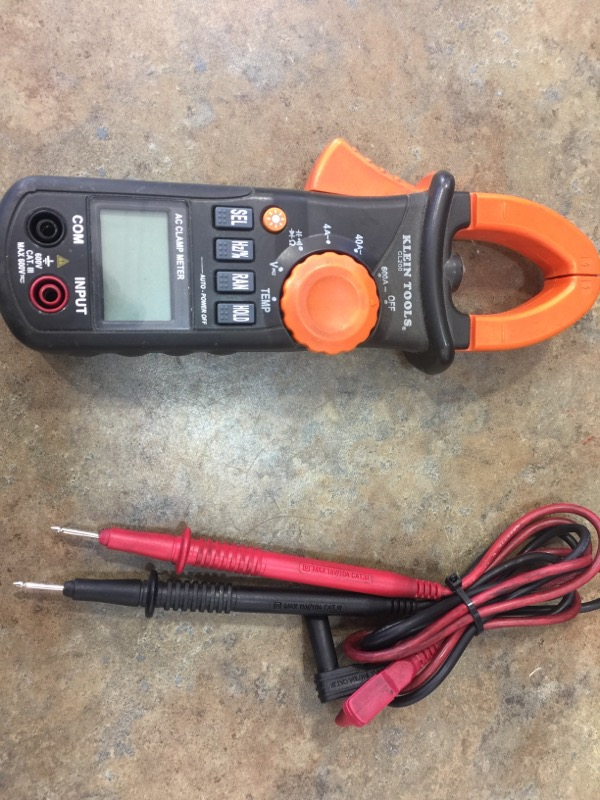 KLEIN TOOLS, INC CL200 Clamp Meter with Temperature
