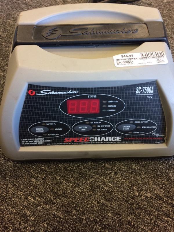 SCHUMACHER Battery/Charger SC-7500A