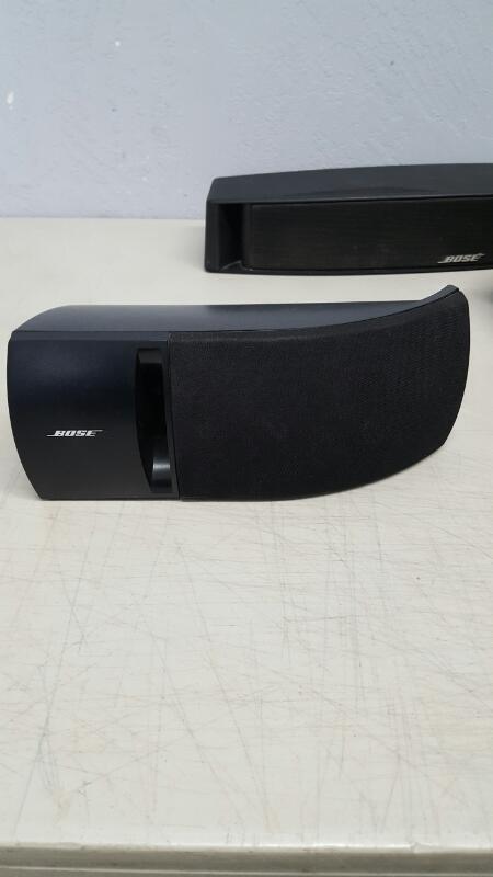 Bose VCS-10 Center Speaker and 2 Bose 161 Bookshelf speakers
