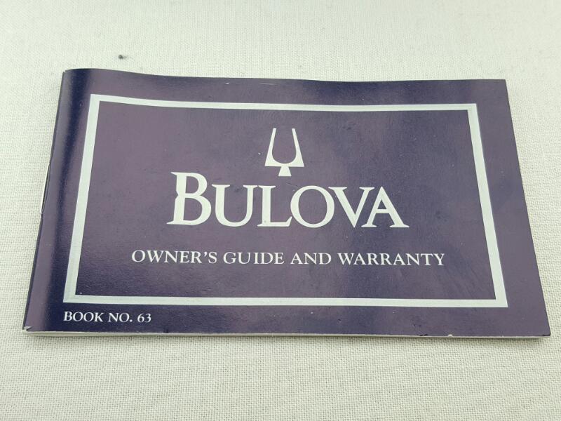 BULOVA Lady's Chronograph Wristwatch 96R19 w/Box