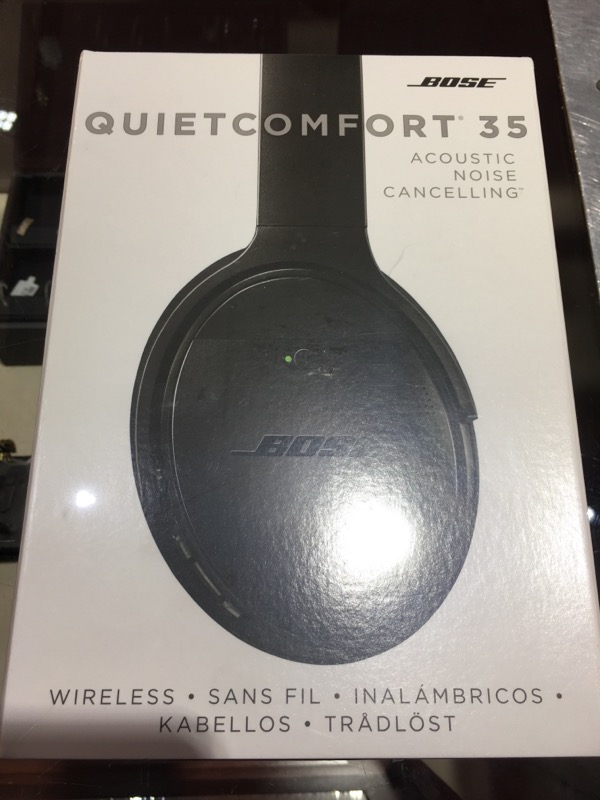 BOSE Headphones QUIET COMFORT 35