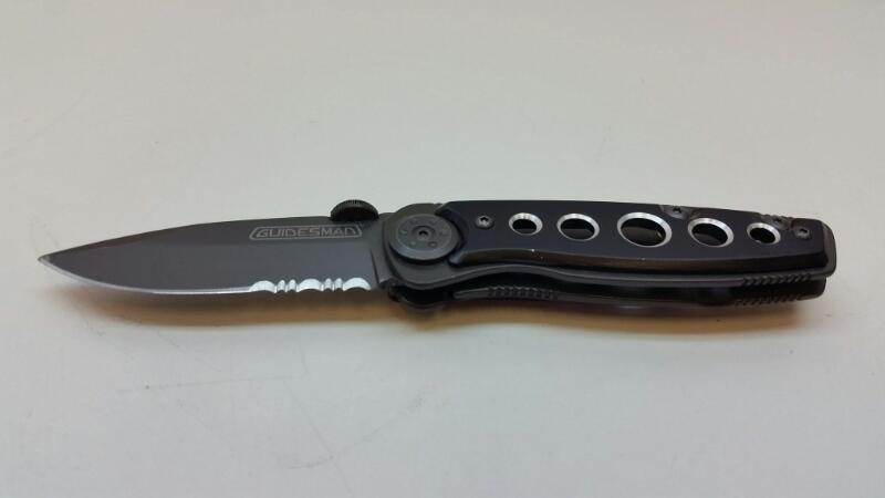 "GUIDESMAN FOLDING POCKET KNIFE 3""]"